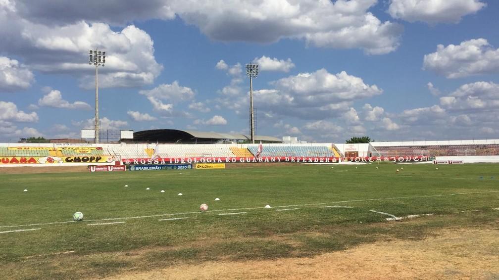 Estádio do Junco — Foto: Romário Silva / Afogados