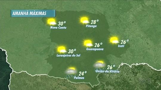 A previsão é de tempo instável nesta quinta-feira na região