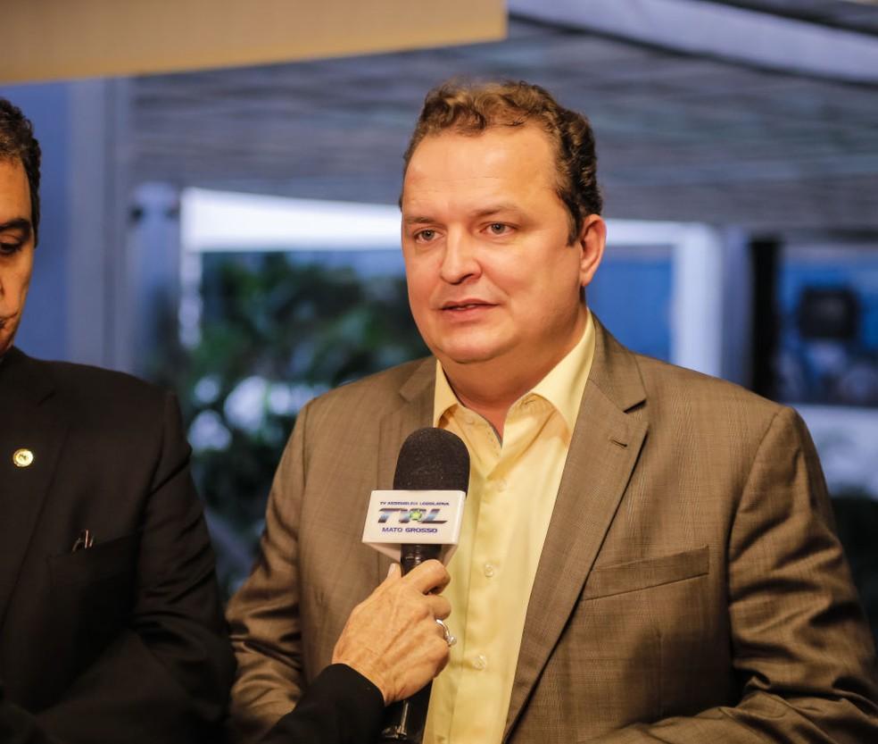 Max Russi (PSB) — Foto: Marcos Lopes/ ALMT