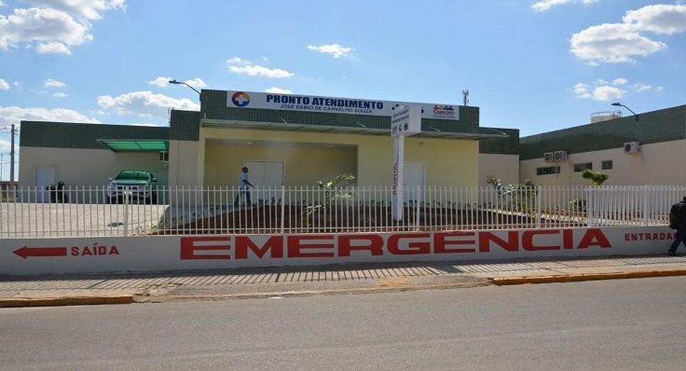 Hospital Municipal de Cabrobó — Foto: Ascom/ Prefeitura de Cabrobó