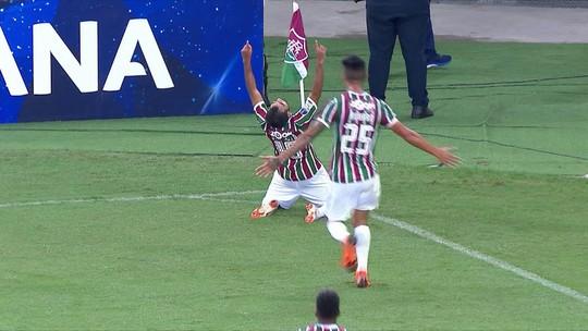 """Digão, após noite especial com gol em 100º jogo pelo Flu: """"Nem consegui dormir"""""""