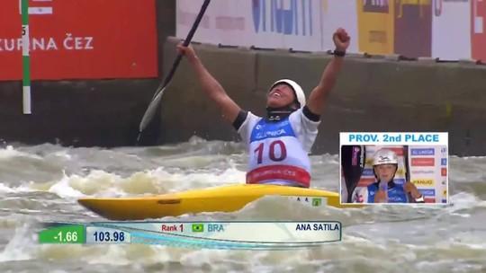 Ana Sátila conquista a medalha de prata na etapa final da Copa do Mundo de canoagem