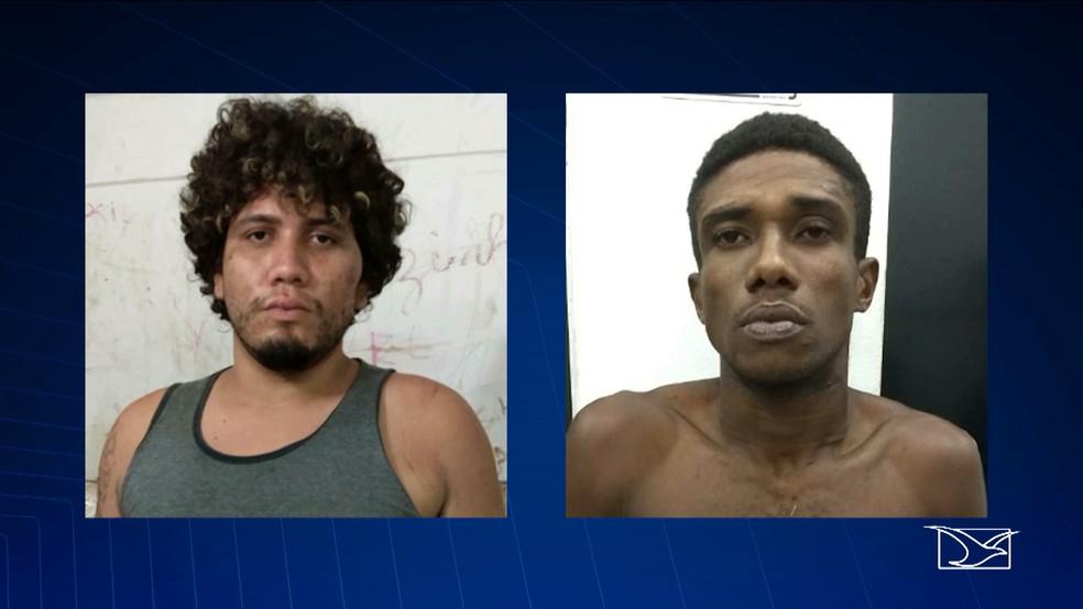 Os bandidos que praticaram assaltos em outras regiões da cidade, foram presos no bairro Renascença (Foto: Reprodução/ TV Mirante)