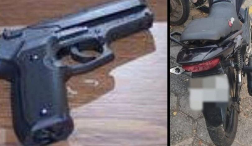 Suspeitos de assalto trocam tiros com a polícia e são presos em São Luís