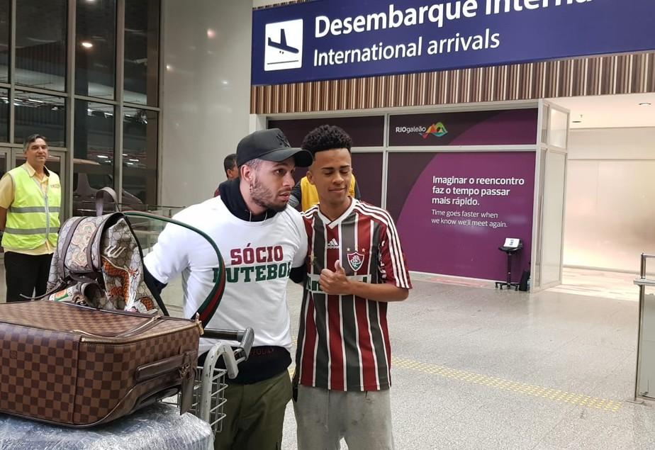 Na chegada ao Rio, Wellington Nem diz que brigou com Shakhtar para voltar ao Fluminense: