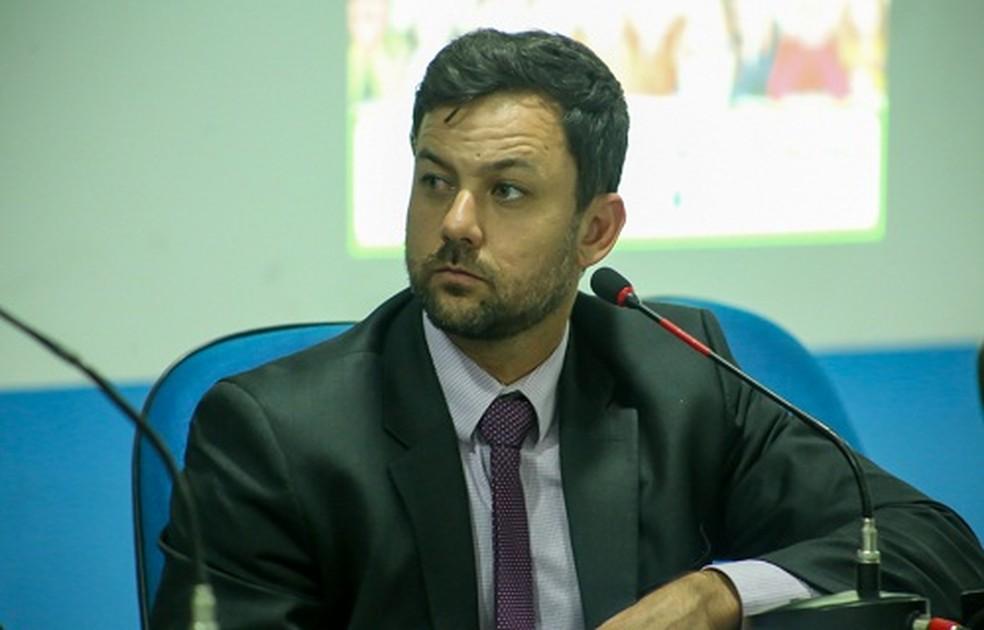 Vereador Lukas Paiva (PSB) teve nova prisão decretada pela Justiça — Foto: Divulgação