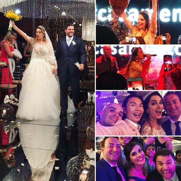Laís Yasmin e Milton Neves Netto se casam (Foto: Reprodução/Instagram)