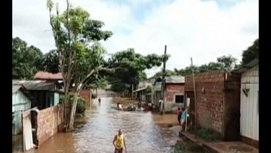 Nível do rio Parauapebas diminui 2,5 metros, mas Defesa Civil mantém alerta