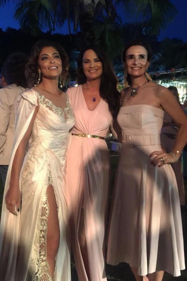 Juliana Paes, Luiza Brunet e Andrea Natal (Foto: Instagram/Reprodução)