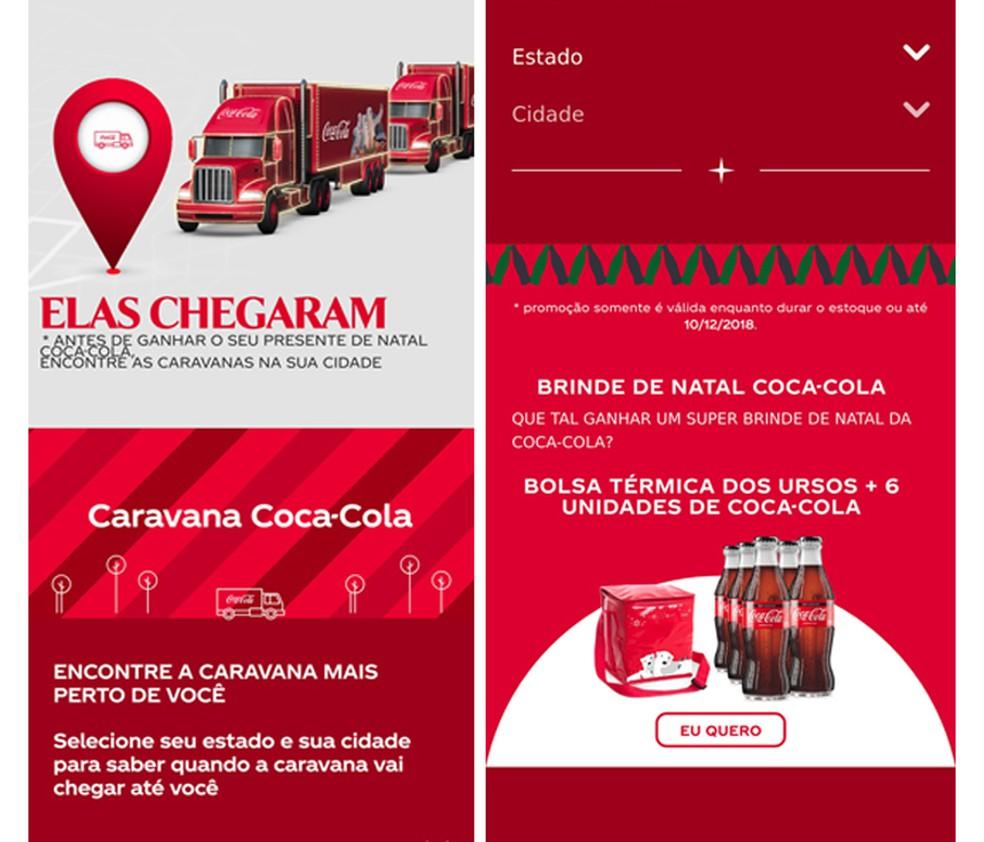 Imagem da falsa promoção da Coca-Cola que está circulando pelo WhatsApp — Foto: Reprodução/WhatsApp