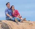 Felipe (Marcos Pitombo) e Shirlei (Sabrina Petraglia) | Artur Meninea/Gshow