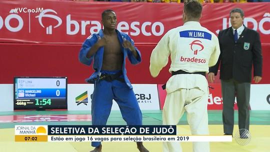 Sergipano vence medalhista olímpico e fará parte da seleção brasileira de judô em 2019