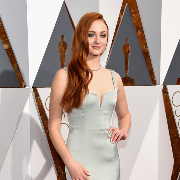 Sophie Turner no Oscar 2016 (Foto: Getty Images)