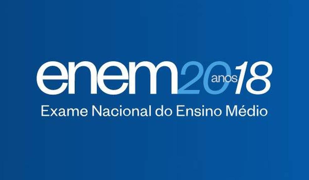 Nota do Enem 2018 é divulgada nesta sexta-feira (18) pelo Inep — Foto: Divulgação/Inep