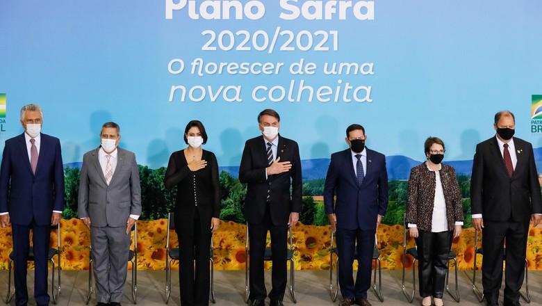 Lançamento do Plano Safra (Foto: Isac Nóbrega/PR/Divulgação)