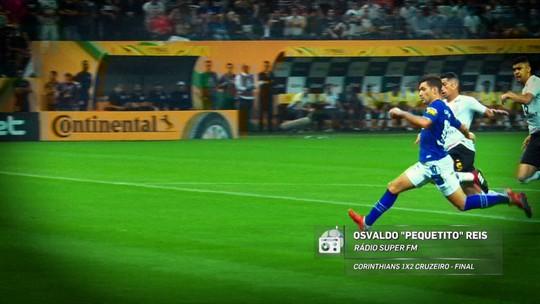 """Redação AM: veja o gol de Arrascaeta na narração de Osvaldo """"Pequetito"""""""
