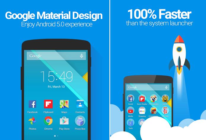 Pico Launcher  faz customização da interface do Android (Foto: Divulgação)