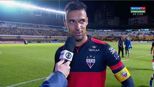 """Gilvan valoriza vitória magra e ressalta sequência invicta do Atlético-GO: """"Evolução boa"""""""