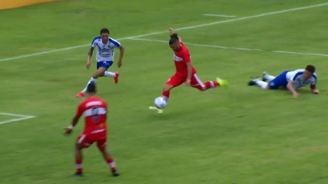 Diego Torres marcou o primeiro do CRB