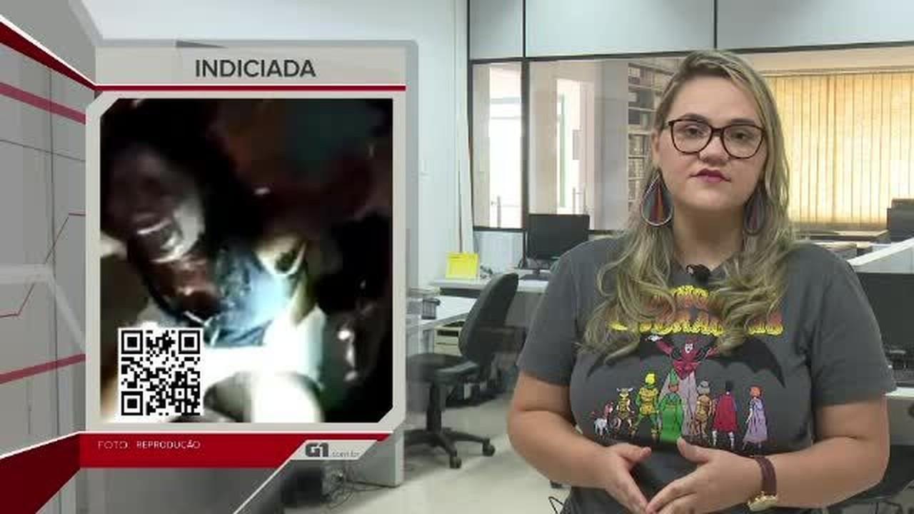 G1 em 1 minuto-AC: mãe de crianças que morreram carbonizadas é indiciada