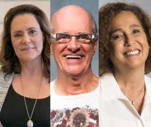 Claudia Jimenez, Marcos Caruso e Elizabeth Savalla | Divulgação