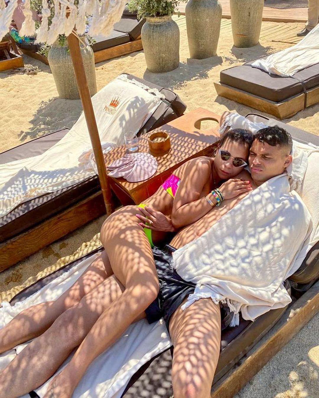 Belle Silva και Thiago Silva (Φωτογραφία: Αναπαραγωγή / Instagram)
