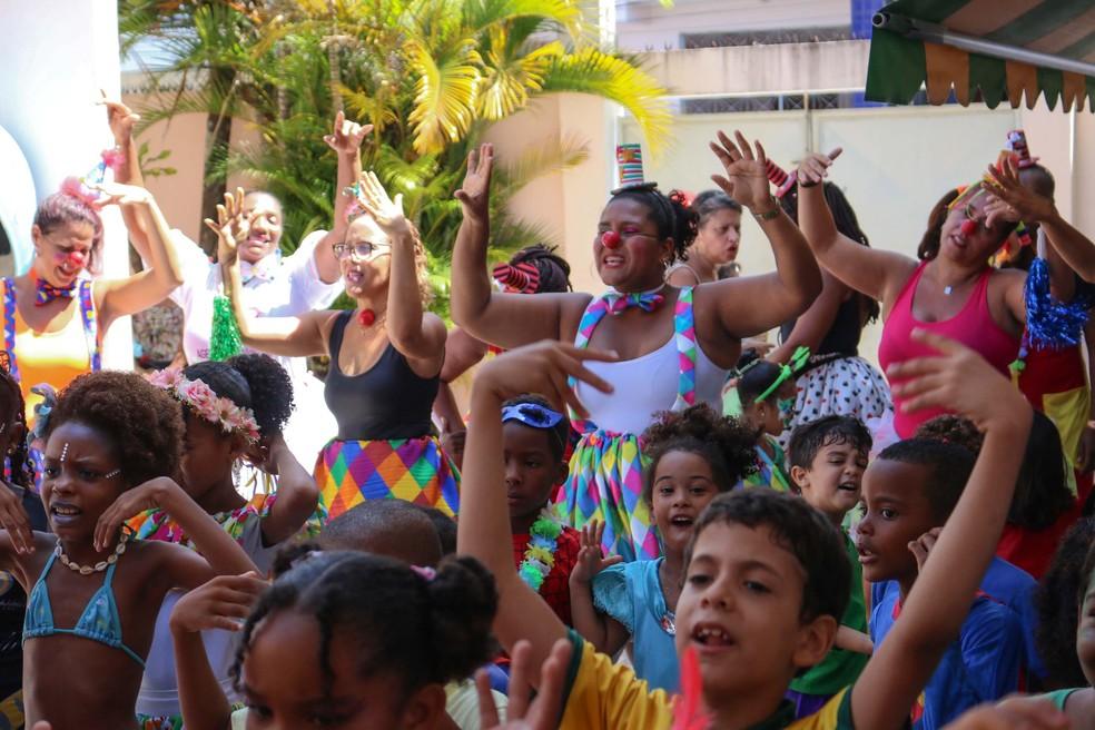 Bailinho infantil vai animar crianças nos bairros de Salvador durante o carnaval — Foto: Divulgação/Prefeitura de Salvador