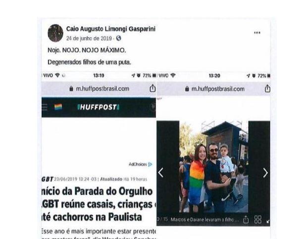 Justiça de SP recebe denúncia, e procurador do estado vira réu por homofobia nas redes sociais
