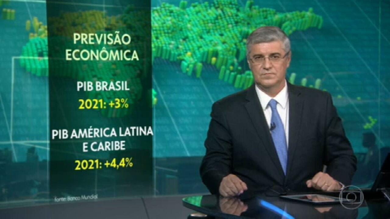 Brasil deve crescer 3% este ano, estima Banco Mundial