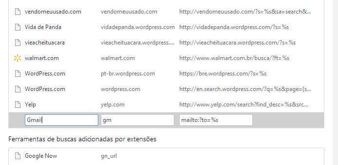 Adicionando mecanismo para criar e-mails pelo Chrome (Foto: Reprodução/Helito Bijora) (Foto: Adicionando mecanismo para criar e-mails pelo Chrome (Foto: Reprodução/Helito Bijora))