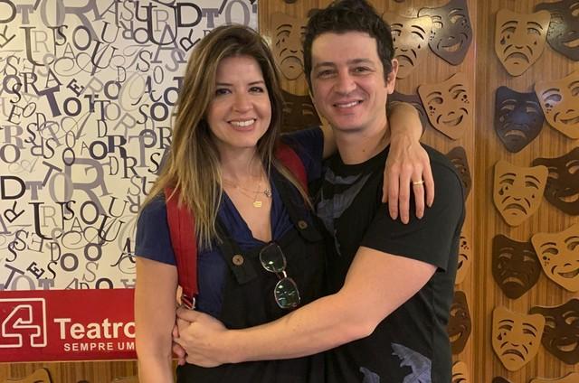 Mariana Santos e o marido, Rodrigo Velloni (Foto: Arquivo pessoal)