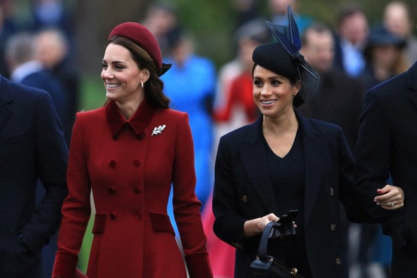 Kate Middleton e Meghan Markle  (Foto: Getty Images )