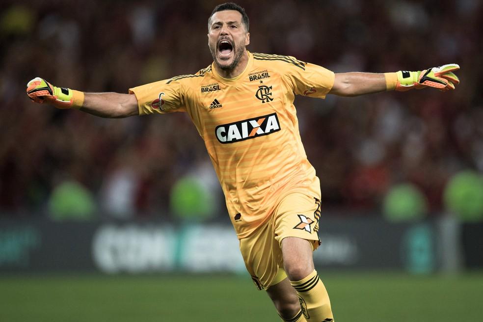 Julio Cesar comemora gol (Foto: Flávio Florido/BP Filmes)