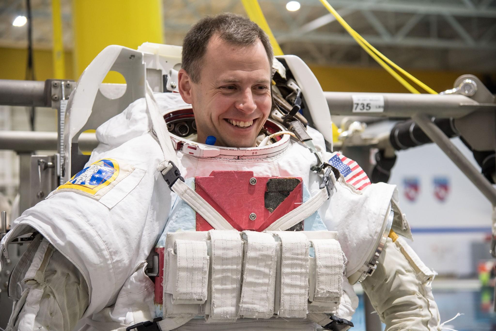 Nick Hague, astronauta da NASA (Foto: Divulgação/ NASA)
