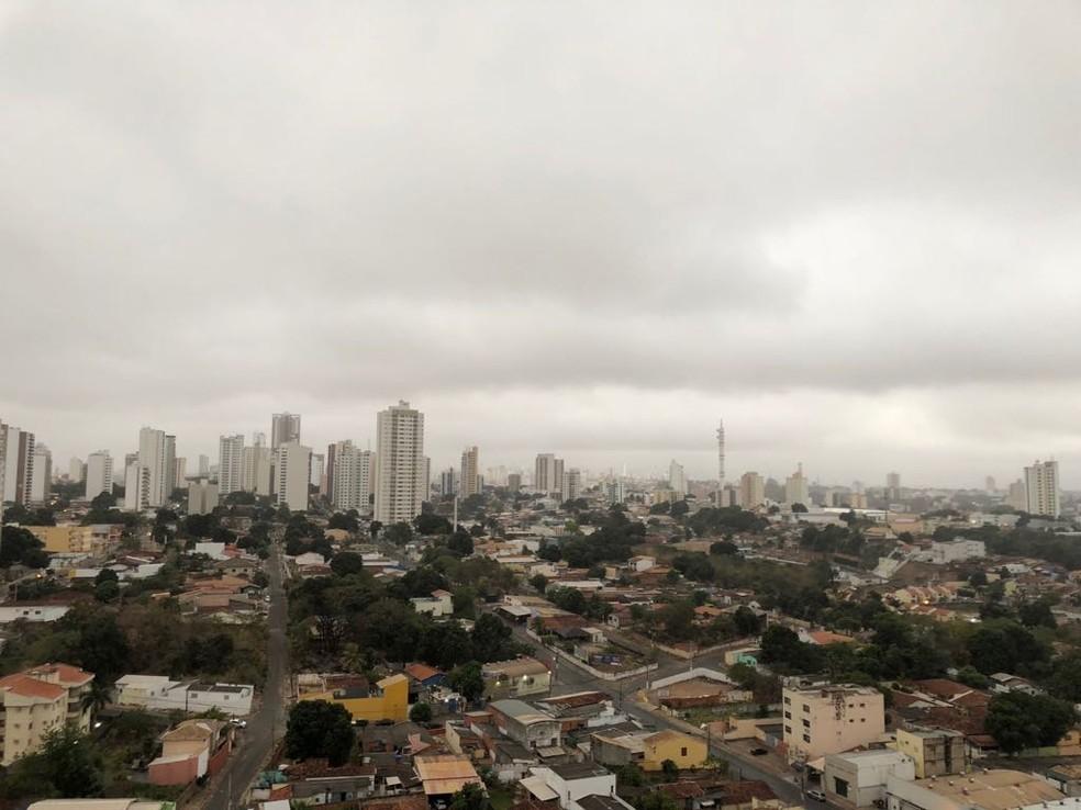 Frio em Cuiabá chega no fim de semana — Foto: Mauri Guimarães/ Arquivo pessoal