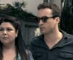 Fabiana Karla e Rodrigo Andrade em cena de 'Amor à vida' | Reprodução