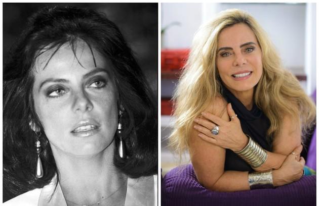Bruna Lombardi, que esteve recentemente na série 'A vida secreta dos casais', da HBO, interpretou Lúcia Brandão, uma juíza bem-sucedida, em 'Roda de fogo'. A novela será reprisada pelo canal Viva a partir de julho. Veja como estão outros atores do elenco (Foto: Reprodução)