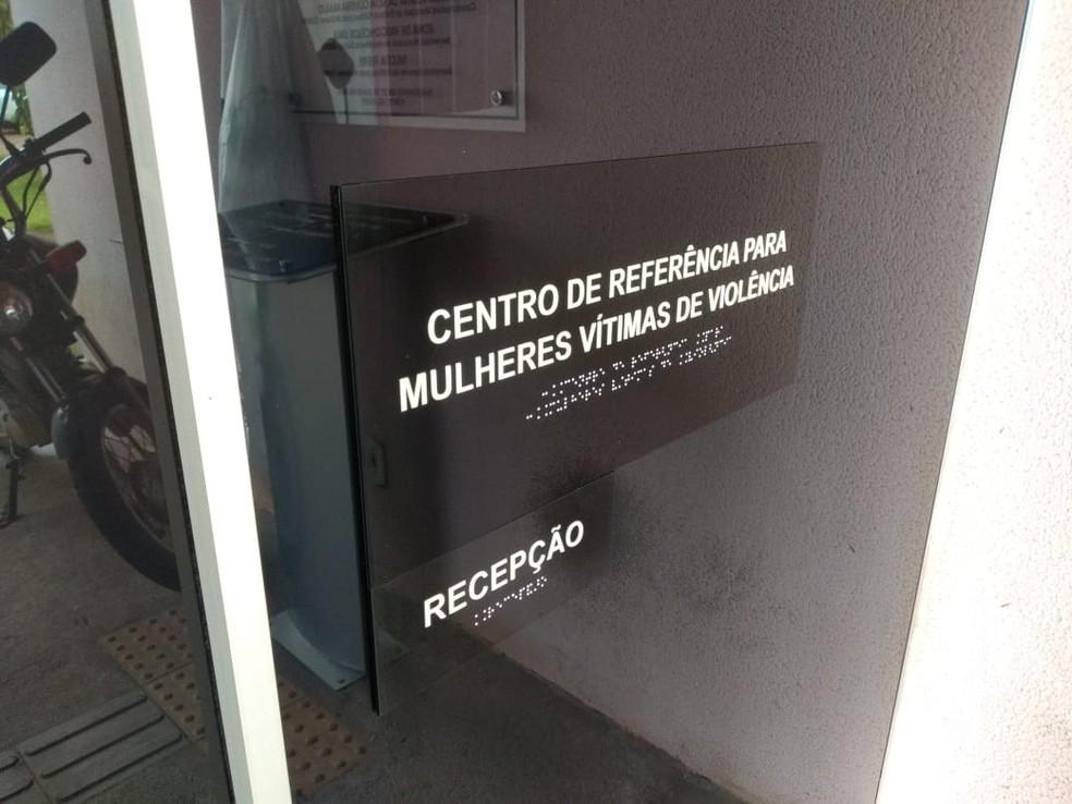 Centro de Referência para Mulheres Vítimas de Violência em Rondônia; estado é destaque negativo no levantamento — Foto: Jheniffer Núbia