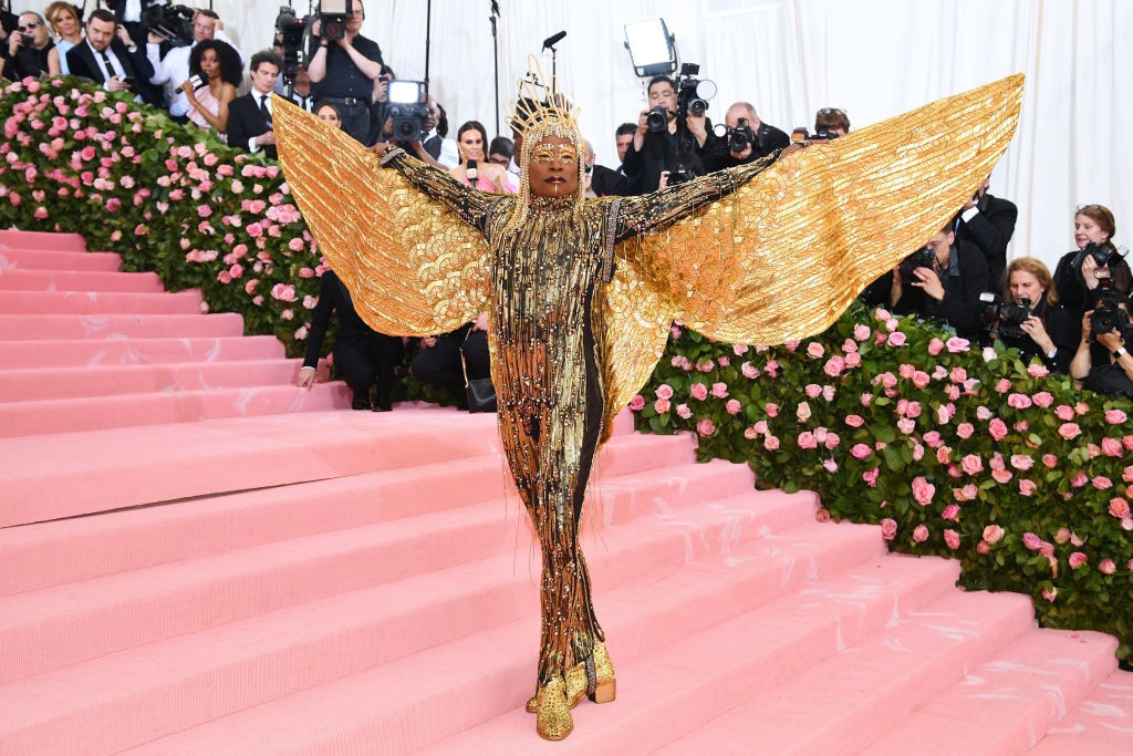 Billy Porter no Met Gala 2019
