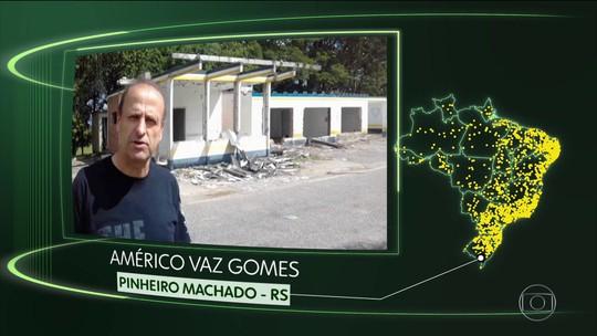 Vídeos de Pinheiro Machado, Divinópolis de GO, Nazaré da M., Milagres, Itaquiraí e N. Lima
