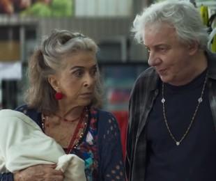 'A dona do pedaço': Betty Faria e Marco Nanini em cena | TV Globo