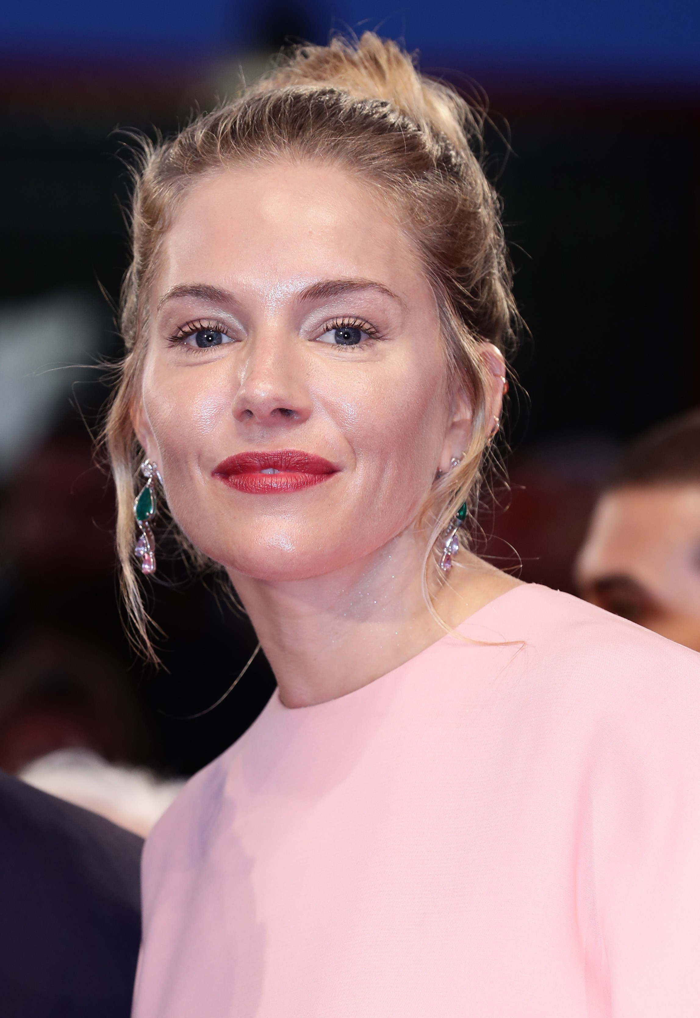 Sienna Miller no Festival de Cinema de Veneza (Foto: Getty Images)