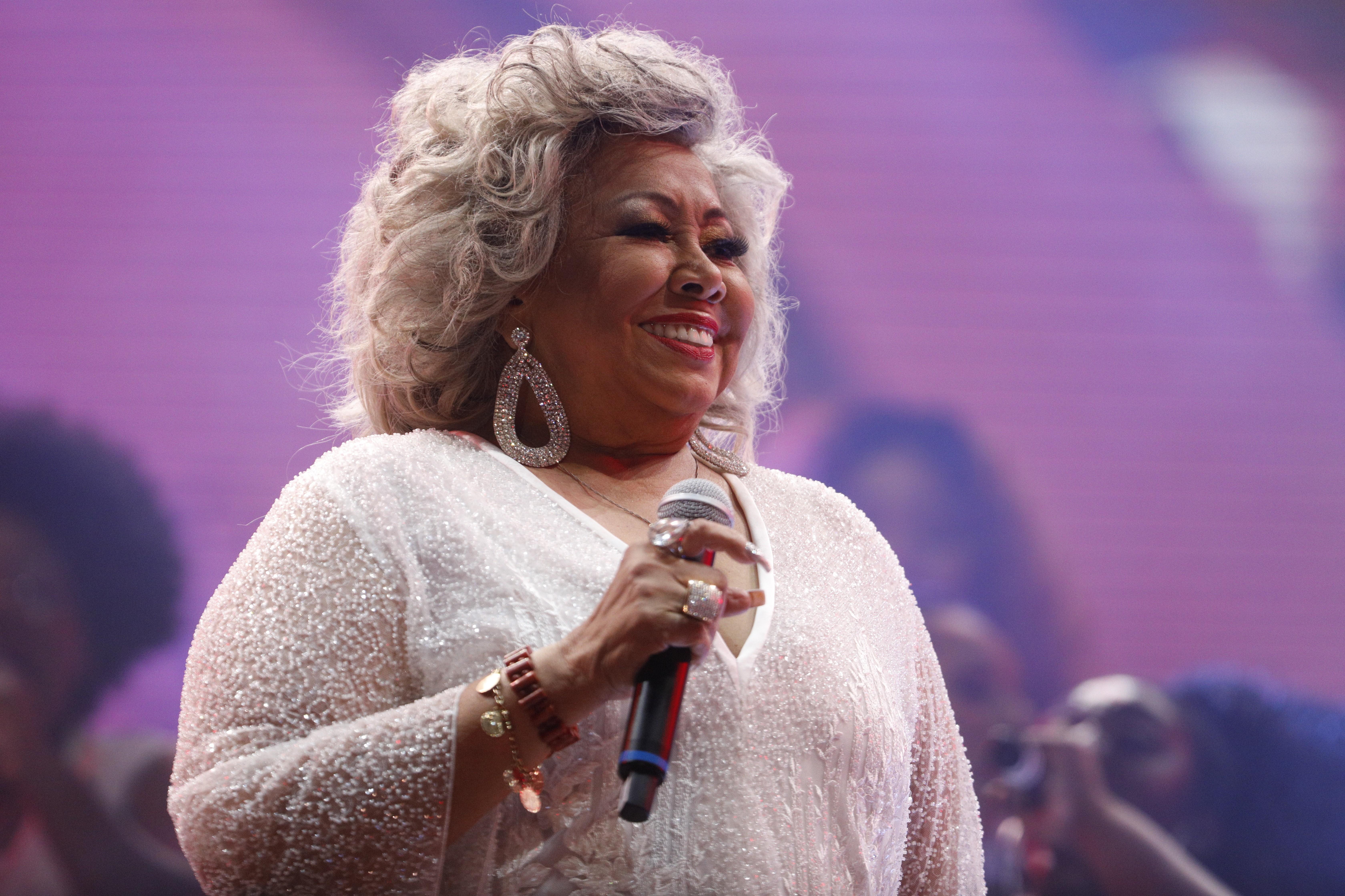 A cantora Alcione se apresenta na Fundição Progresso