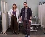 Caco Ciocler e Ana Petta em 'Unidade básica' | Divulgação