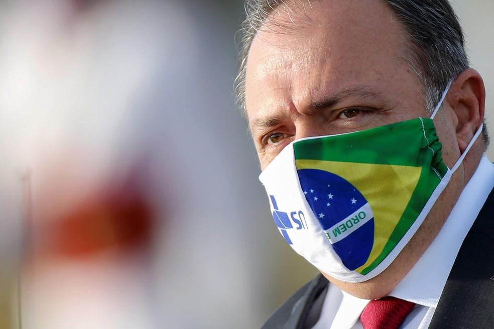 Eduardo Pazuello, ministro da Saúde, está com Covid-19 | Blog do Valdo Cruz | G1