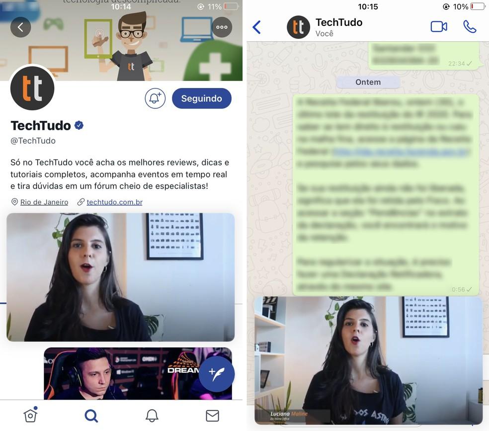 PiP do YouTube no iPhone funciona enquanto usuário utiliza outros aplicativos — Foto: Reprodução/Rodrigo Fernandes