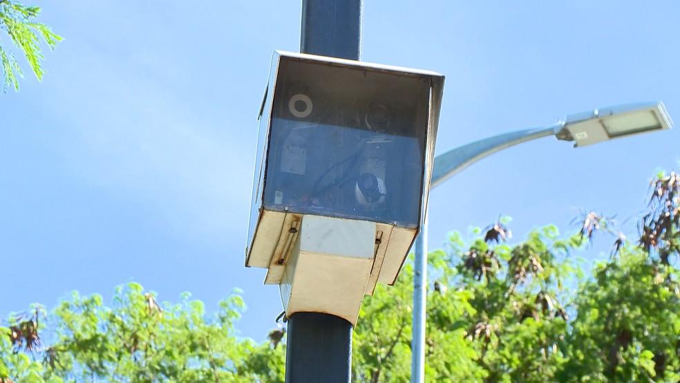 Radares  instalados no Espírito Santo, no ES  — Foto: Reprodução/ TV Gazeta