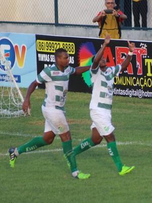 Altos x Piauí - Joelson (Foto: Wenner Tito)