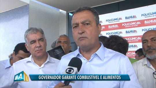 Governador fala sobre impactos da greve dos caminhoneiros e possível redução de impostos