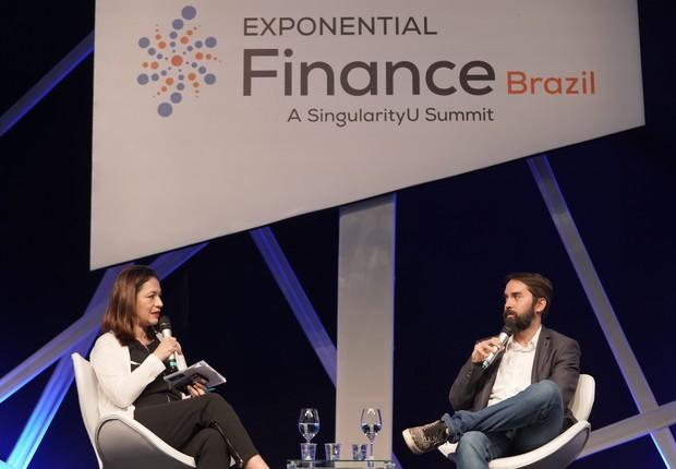 Sandra Boccia, Boccia, diretora de redação de Pequenas Empresas & Grandes Negócios e de Época NEGÓCIOS, e Rodrigo Dantas, fundador e CEO da Vindi (Foto: Divulgação)